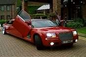Limousine Chrysler Red 1