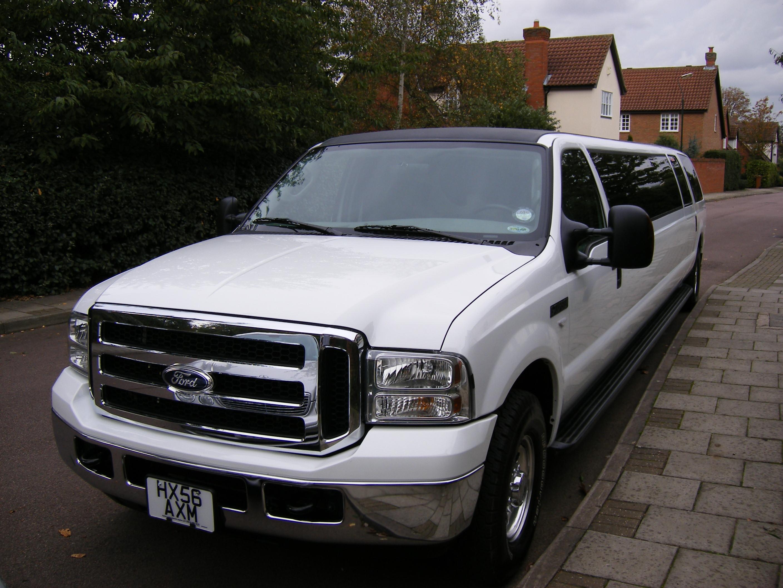 White Excursion Limousine