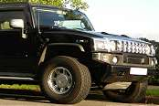 Black Hummer Limousine 1