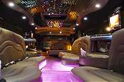 Maroon Hummer Limousine 2