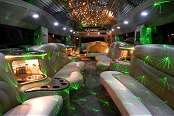 Maroon Hummer Limousine 3