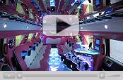 Video of Pink Hummer Limousine
